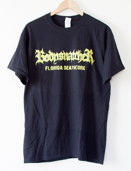 【BODYSNATCHER】Live Shot T-Shirts (Black)
