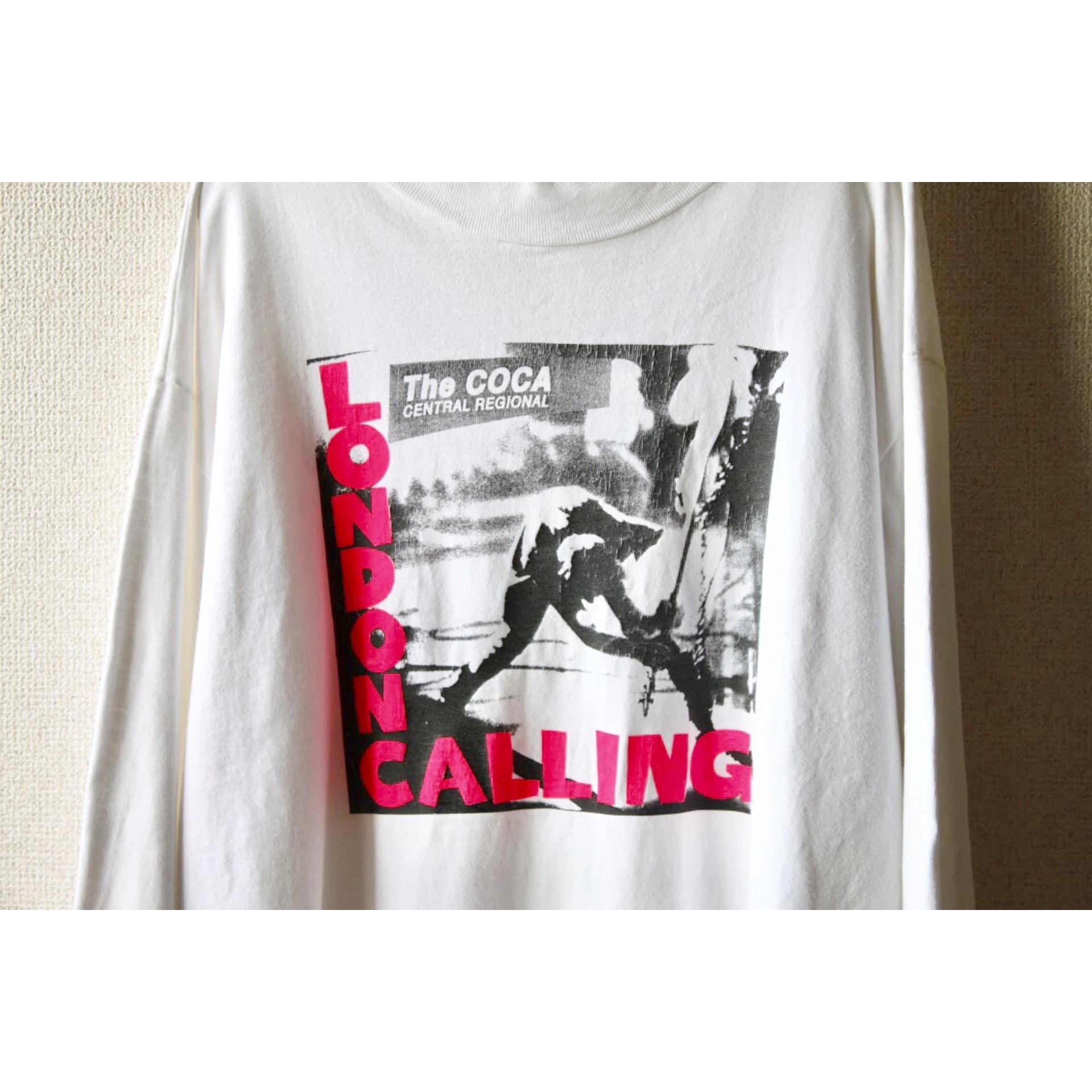 Vintage London Calling long sleeve shirt