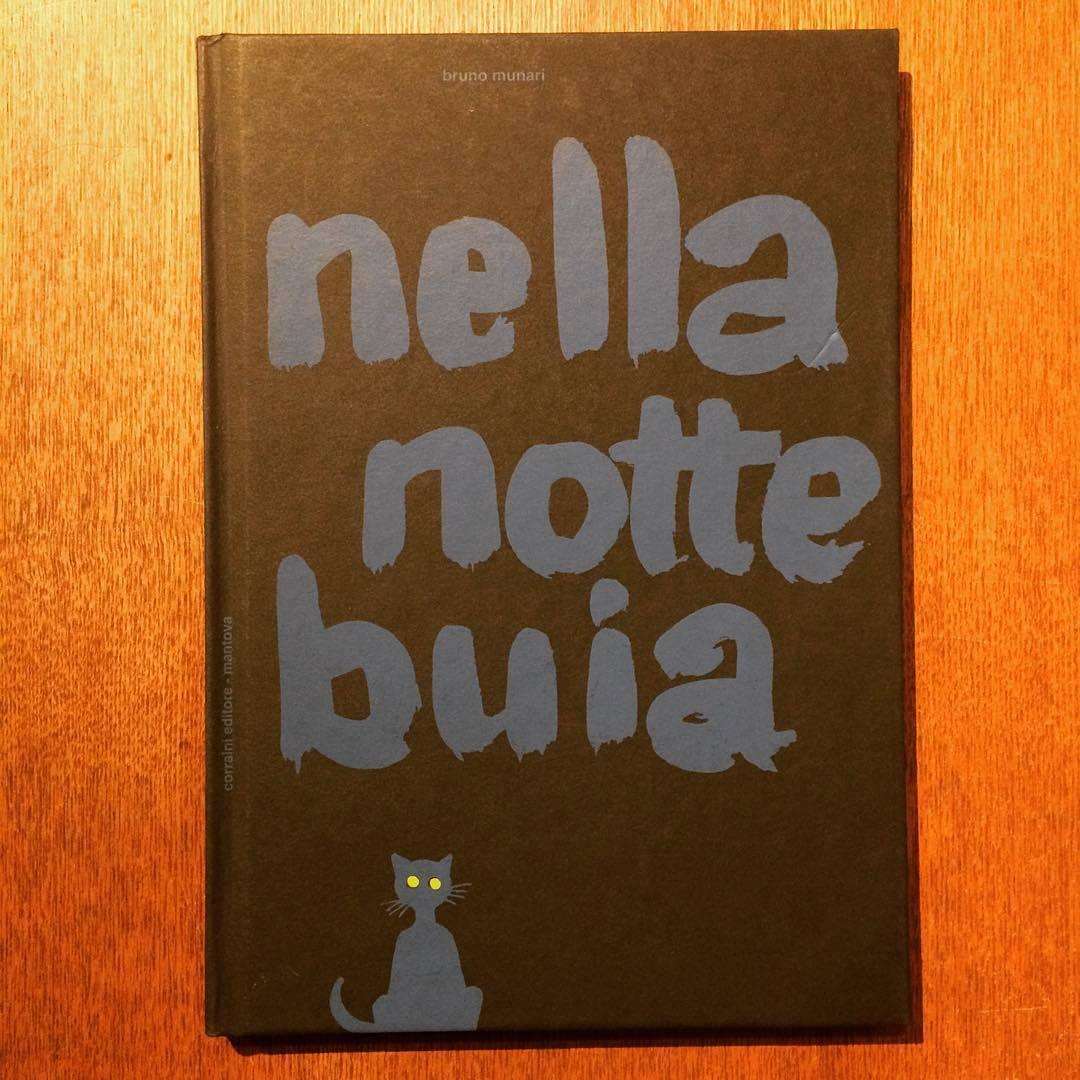 ブルーノ・ムナーリ絵本「 In the Darkness of the Night(Nella notte buia)/Bruno Munari」  - 画像1