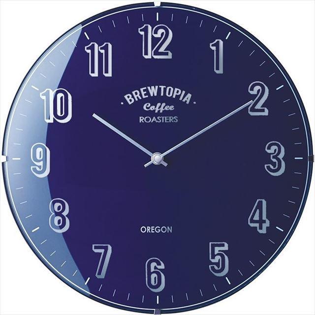 電波時計 レトロ Bouliac ~ブリアック~ CL-1374 インターフォルム - 画像2