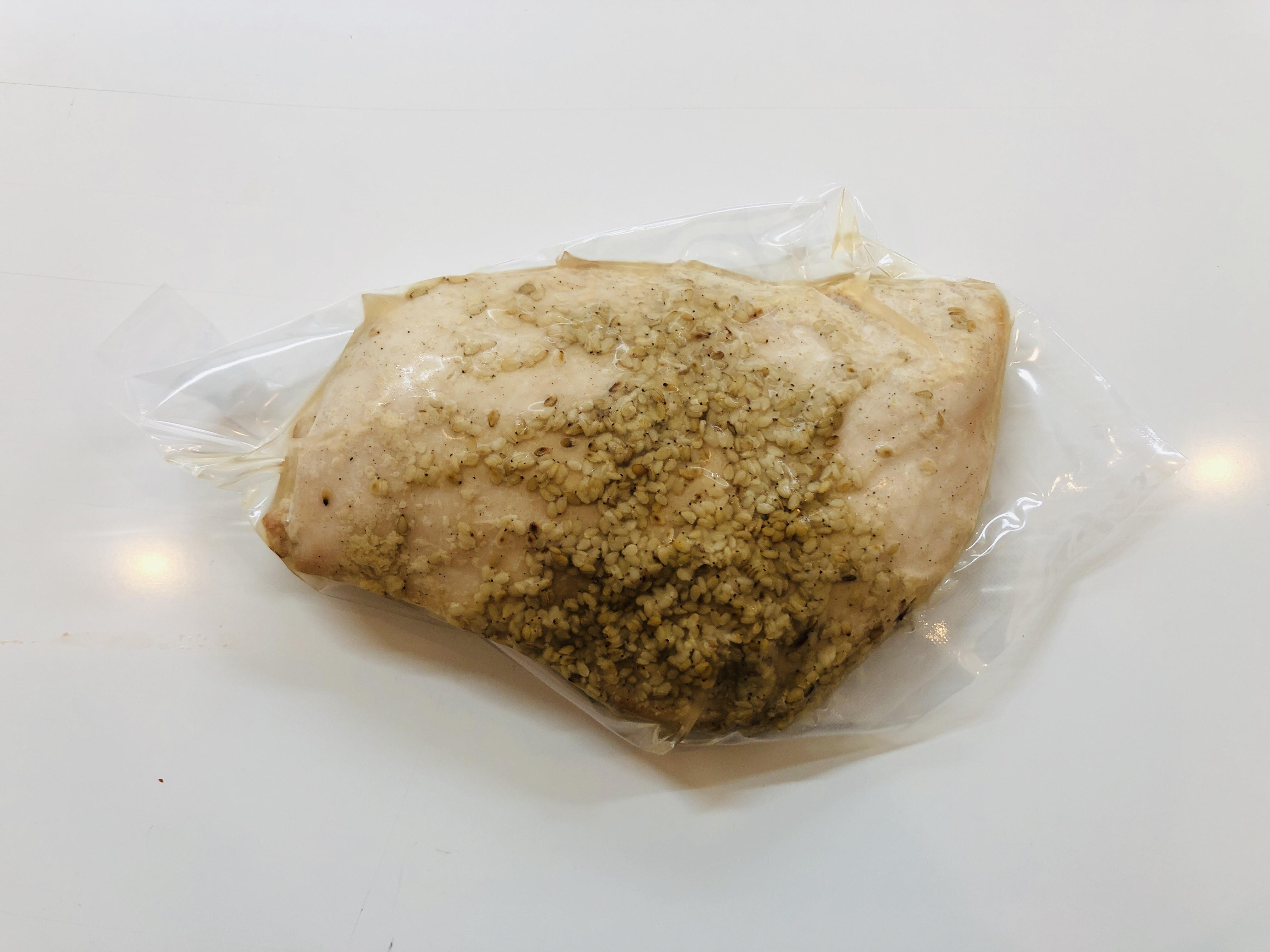 【自家製!!マッスルぱっく・ナチュラルサラダチキン【味付き】Mサイズ