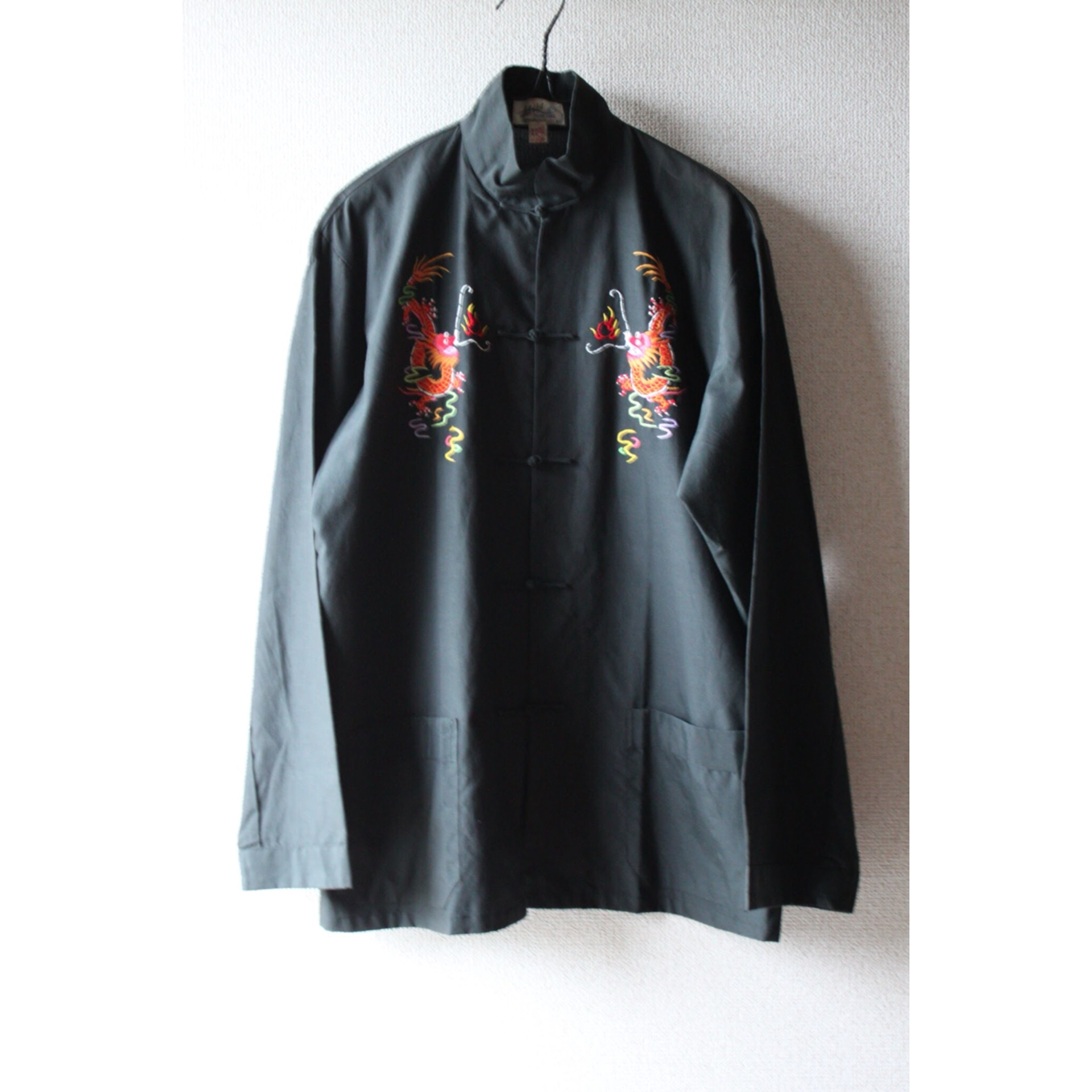 Vintage china embroidery shirt