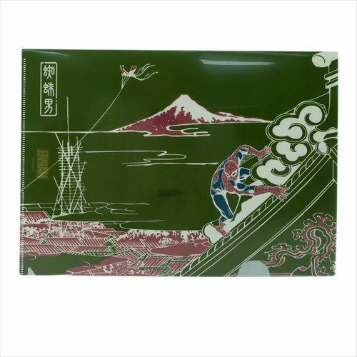 【A4クリアファイル】スパイダーマン/富士に凧