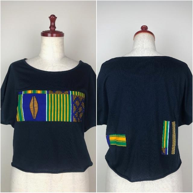 パッチワークドルマンTシャツ07