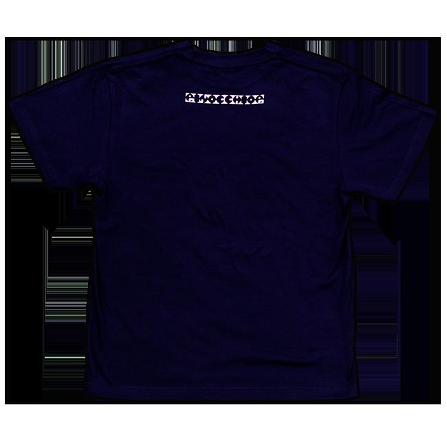 ピノキオピー 意味不明Tシャツ(メンズ / ネイビー) - 画像2