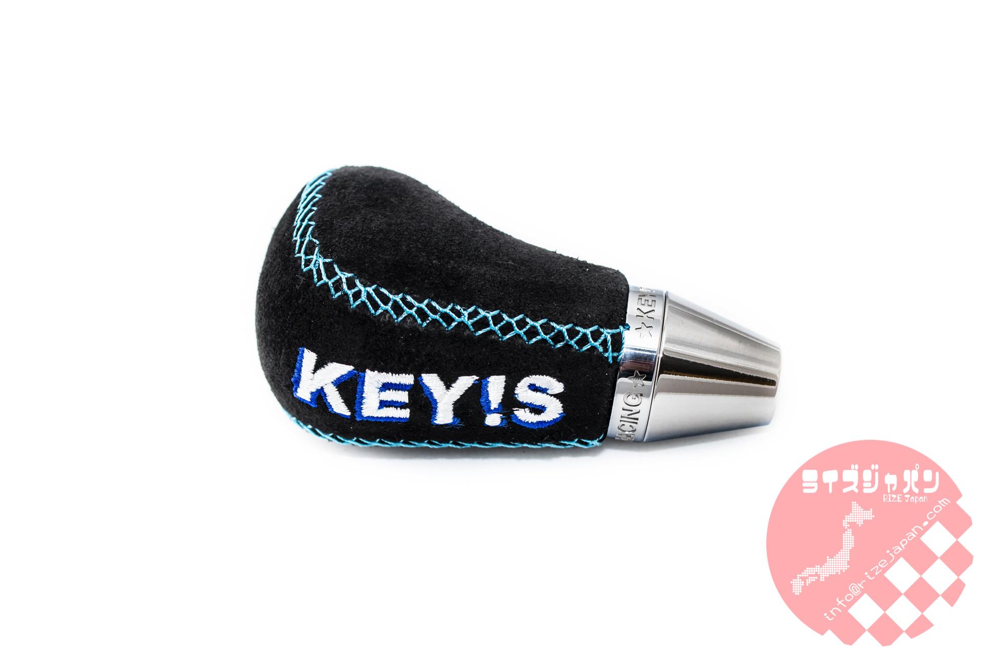 キーズレーシング シフトノブ スエード / Key's racing Shift knob SUEDE