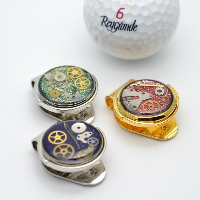 【プレゼントに最適】ゴルフマーカー