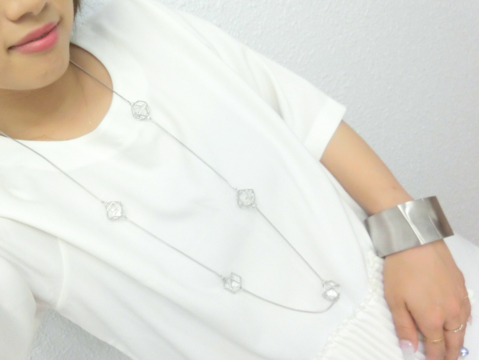 【 UNSEABLE 】Cubic necklace