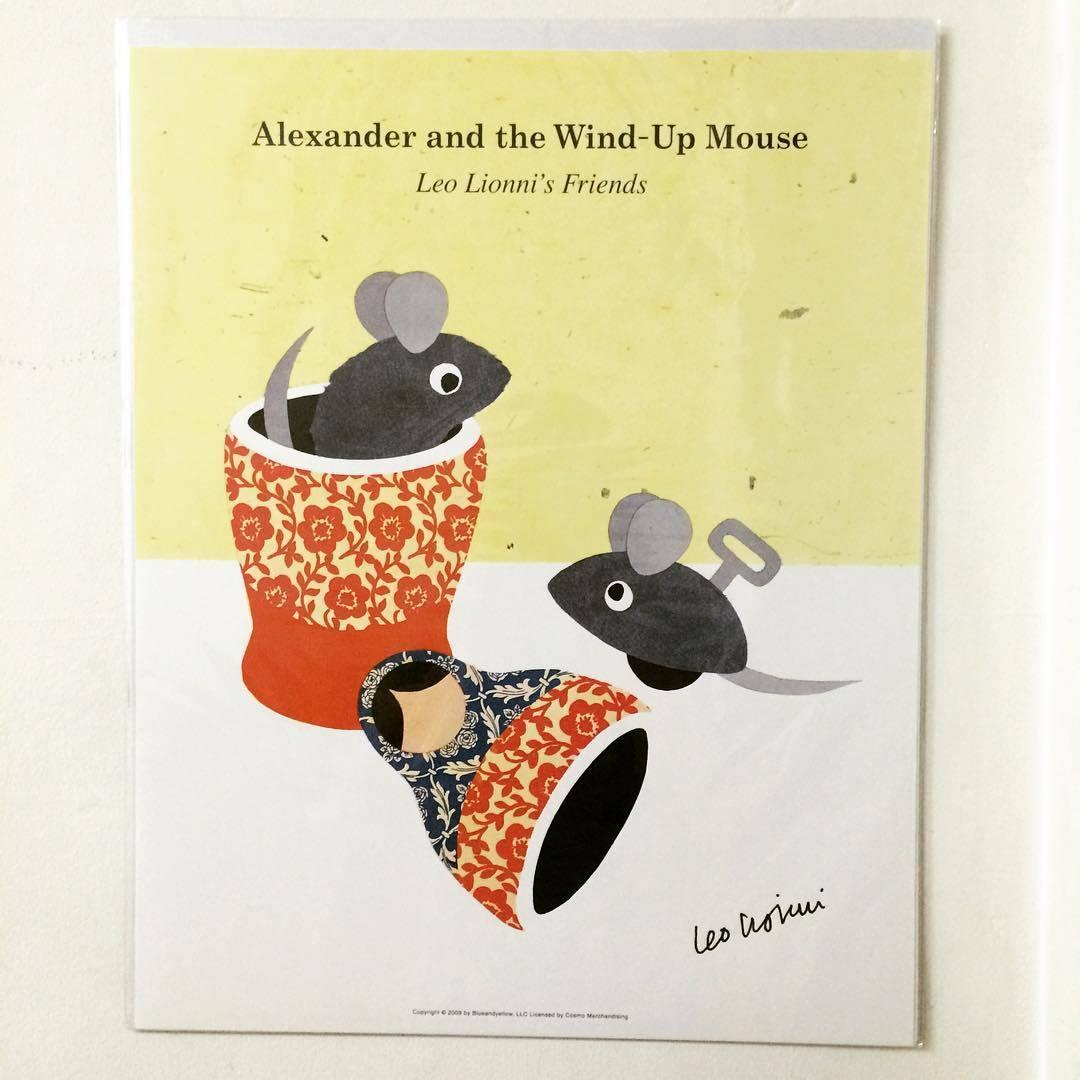 ポスター「レオ・レオニ アレクサンダとぜんまいねずみ」 - 画像1