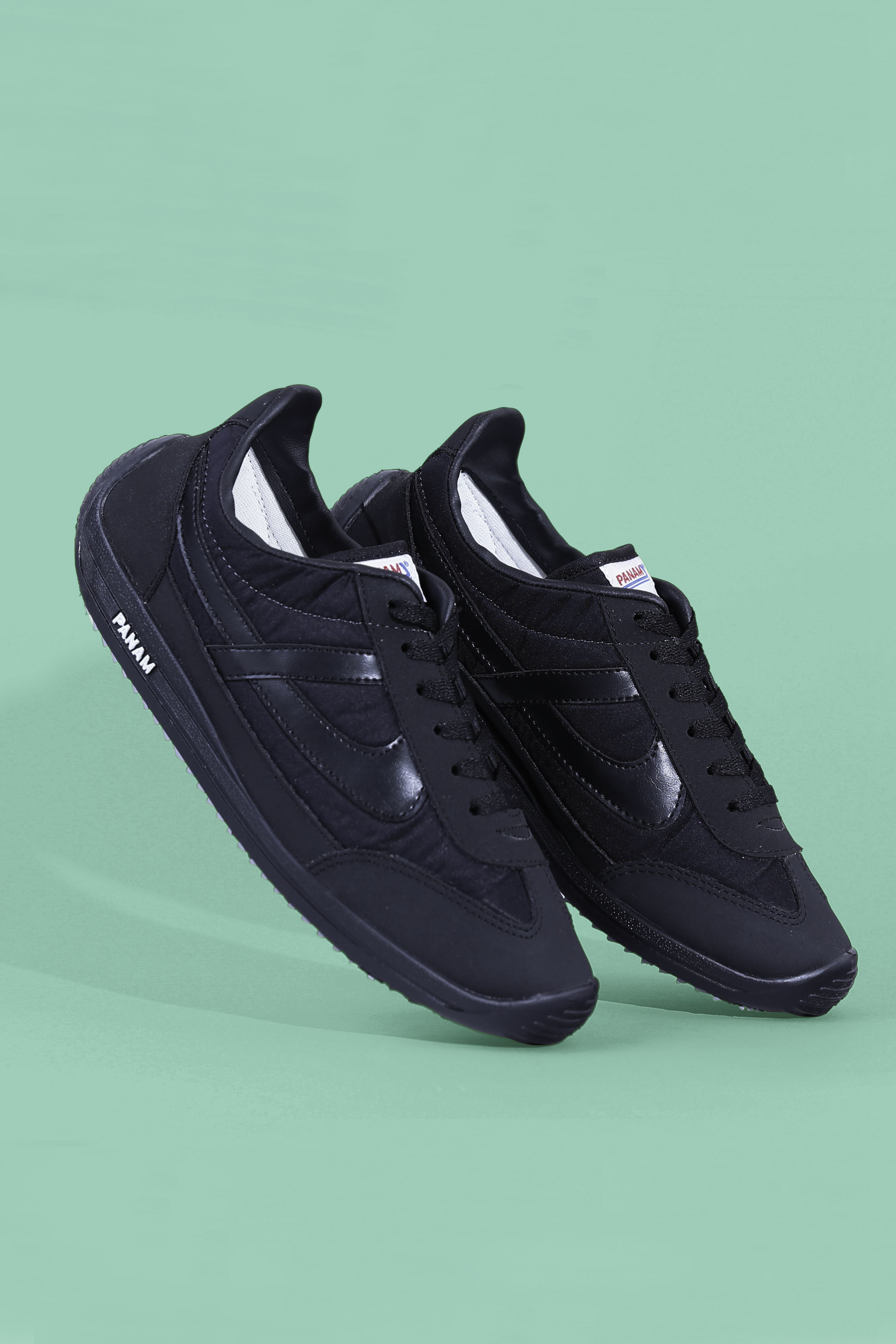 PANAM Classic Jogger Shoes (Black)