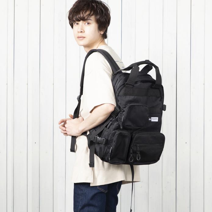 【YAK PAK】BOXPOCKET BACKPACK NO0125301