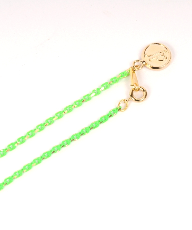 df18SM-J03 COLOR CHAIN NECKLACE