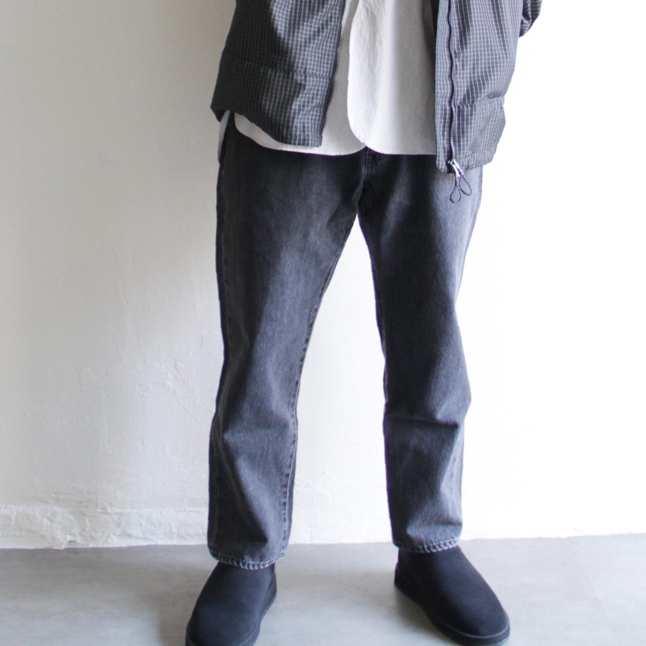 LAMOND【 mens 】serubitch tapered denim