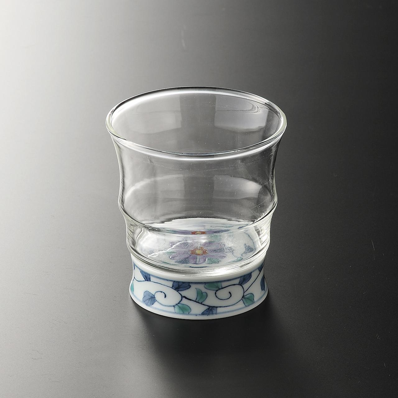 ロックグラス (鉄仙花) 20-304