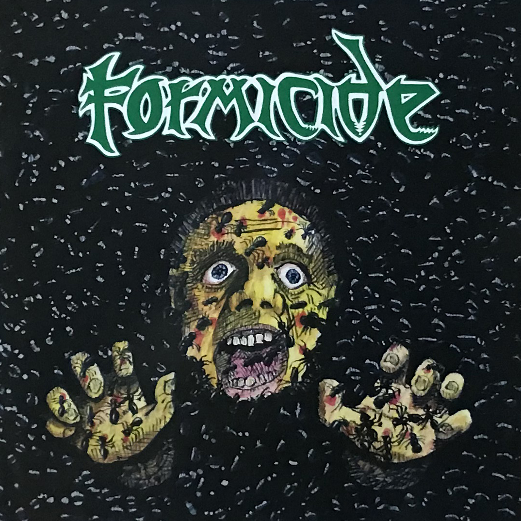 "FORMICIDE ""Demo-logy 1987-1989 (A Tribute to Eric Stevenson) Official CD"""