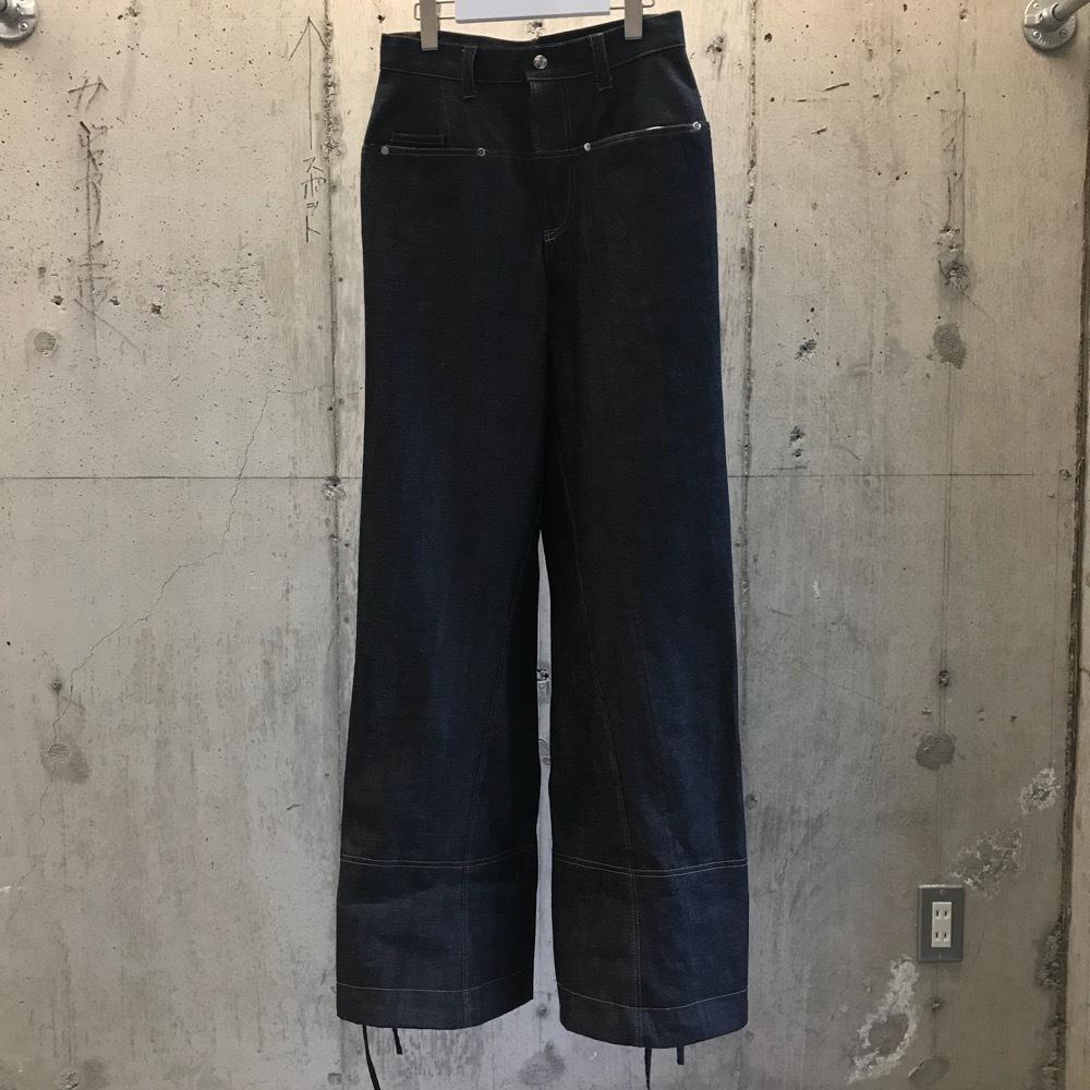odd_ Drawwing Denim Pants
