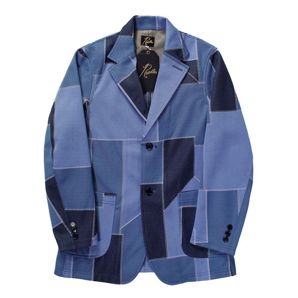 NEEDLES Patchwork Track Jacket Blue