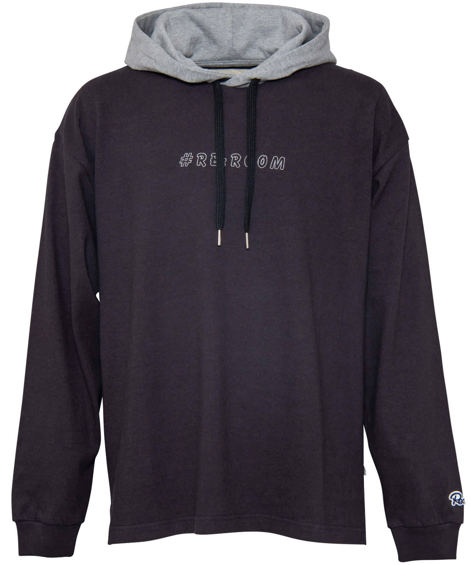 LOGO EMBROIDERY BIG HOODED LONG SLEEVE[REC267]