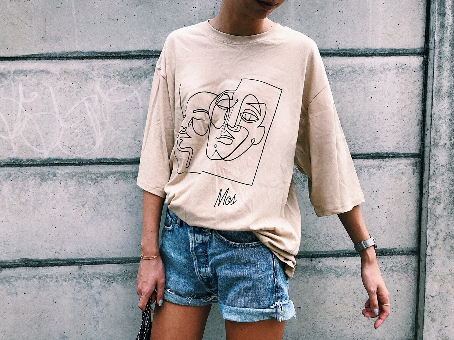 Art Face T-shirt