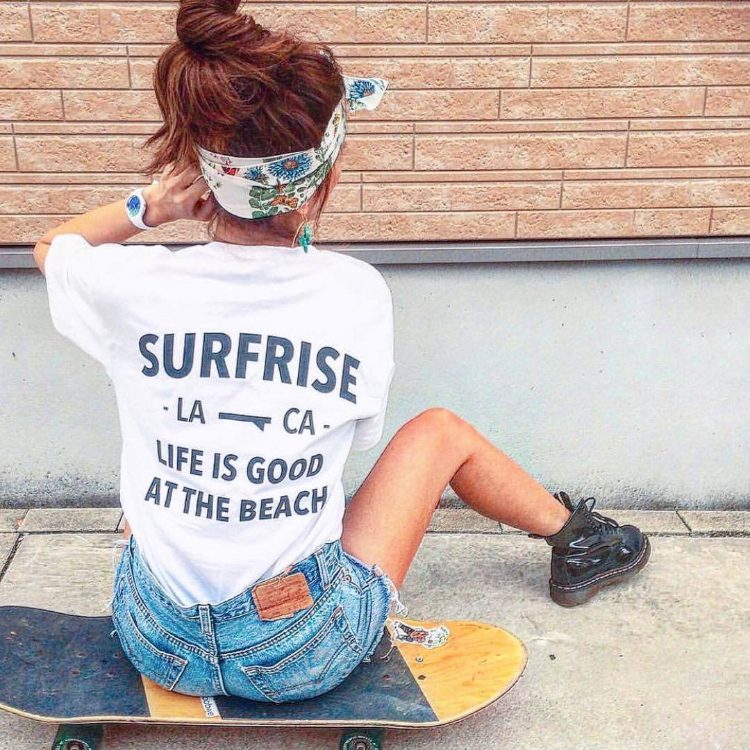 LIFE IS GOOD Tee - White