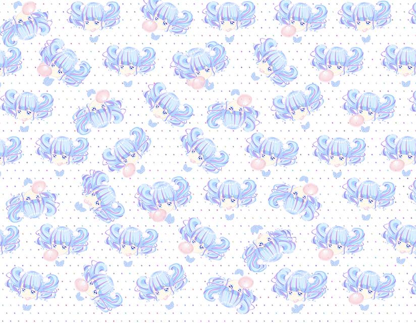『フーセンガム(青っぽい)』