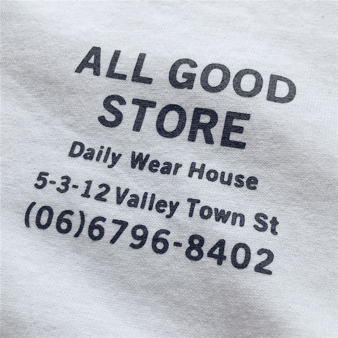 ALL GOOD STORE / Store Logo T-shirt