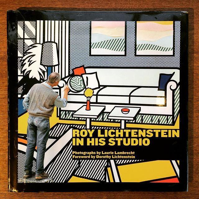 写真集「Roy Lichtenstein in His Studio」 - 画像1