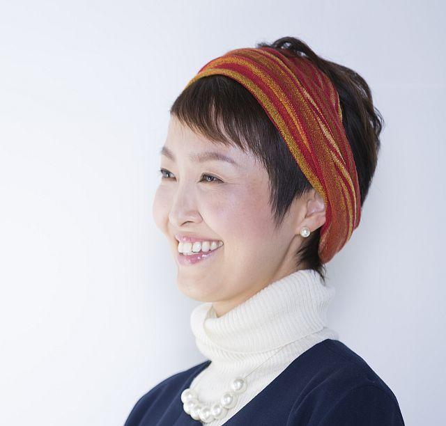 【送料無料】こころが軽くなるニット帽子amuamu|新潟の老舗ニットメーカーが考案した抗がん治療中の脱毛ストレスを軽減する機能性と豊富なデザイン NB-6552|絣3WAYストール - 画像4