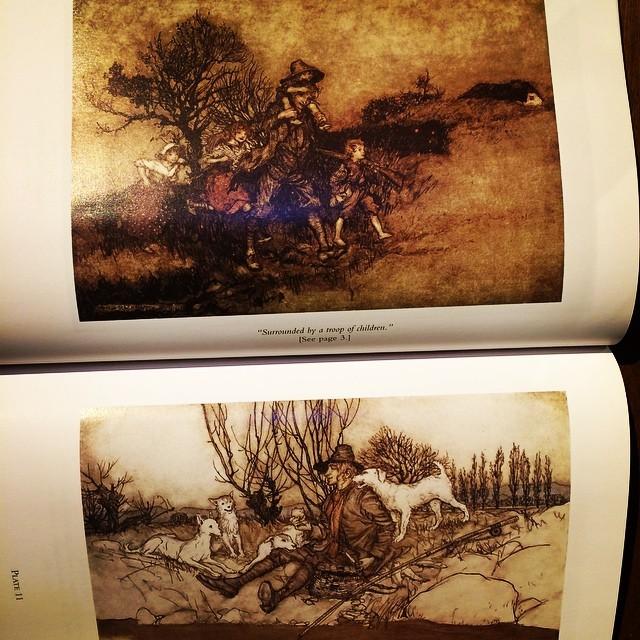 絵本「Washington Irving's Rip Van Winkle/Arthur Rackham」 - 画像3