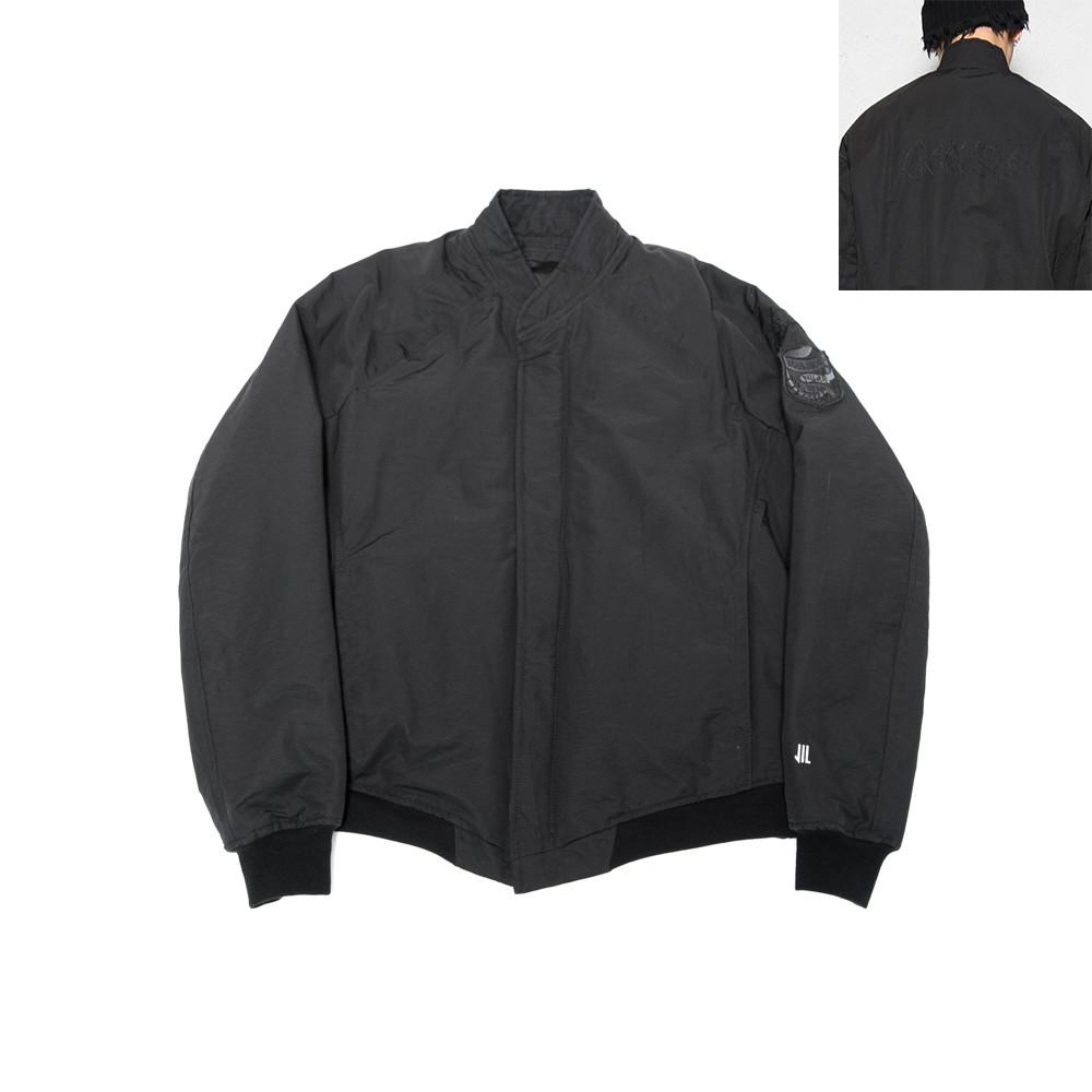 600BLM1-2-BLACK / ボマージャケット ver.2