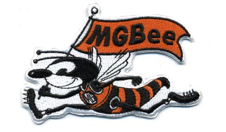 MG Bee・ワッペン