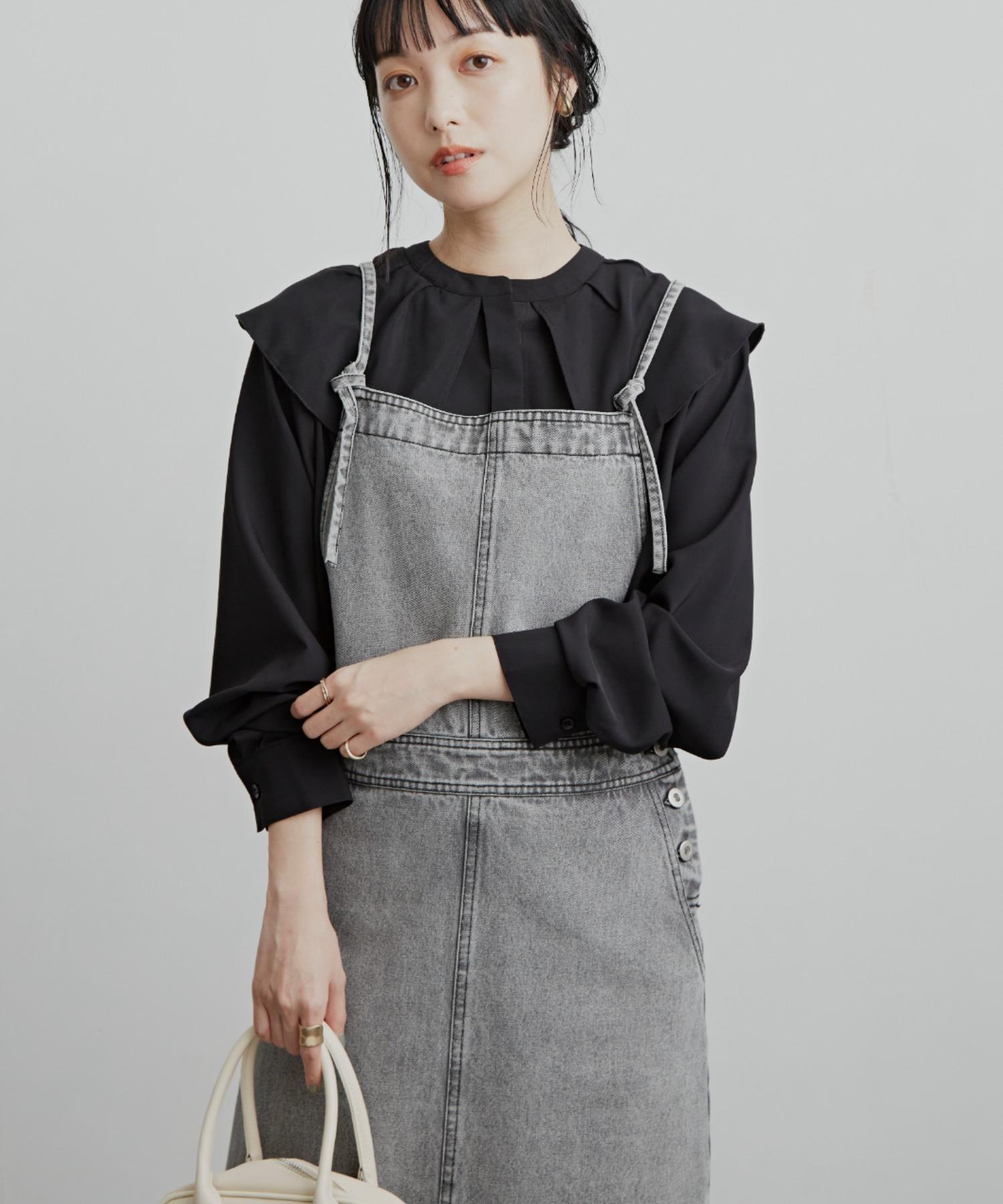 ロングジャンパースカート/OTHER