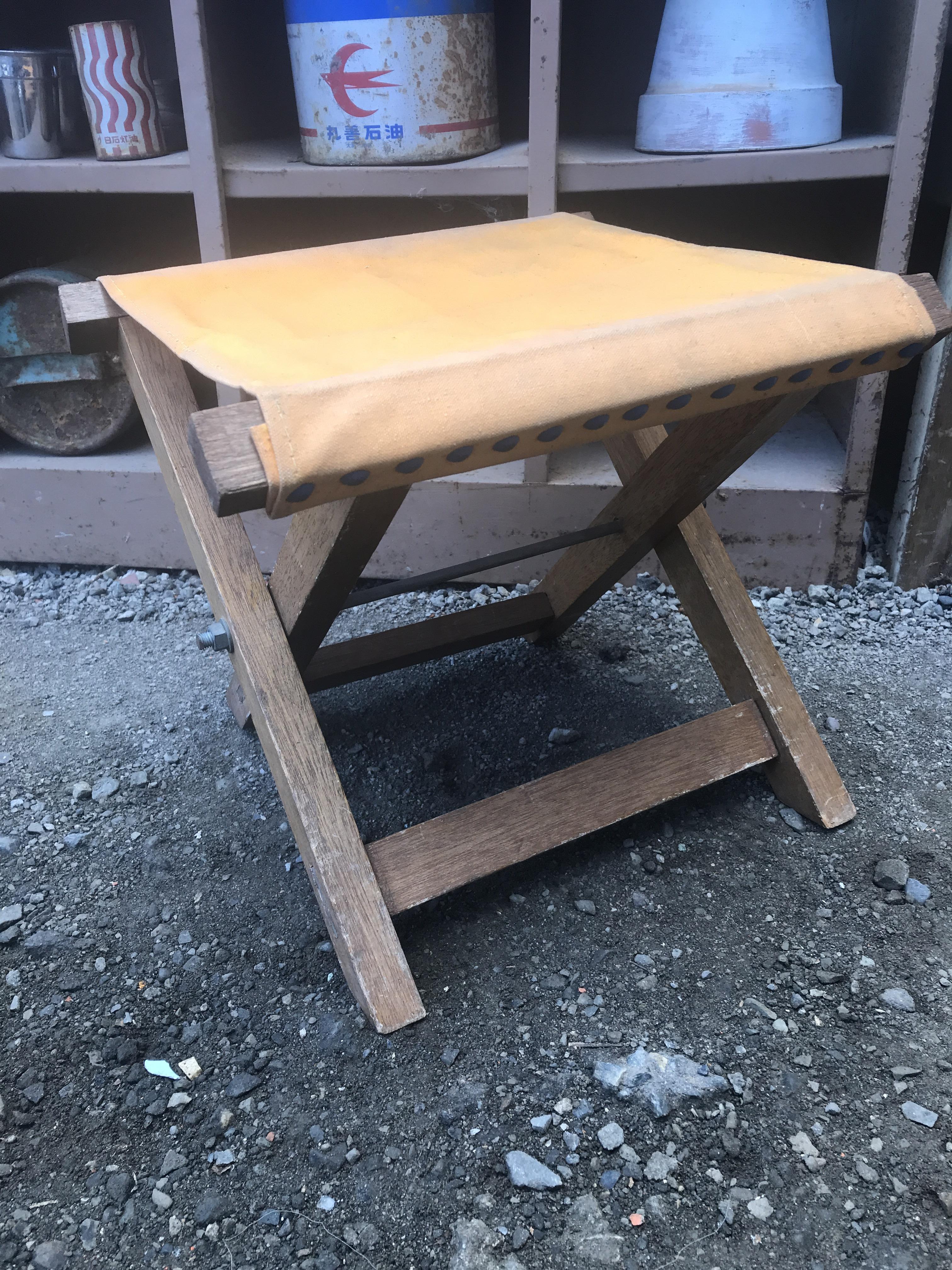 ジャンク 折りたたみ椅子