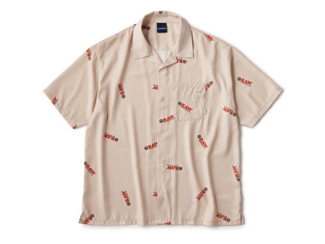 RAW × INTERBREED|Logo Textile Shirts