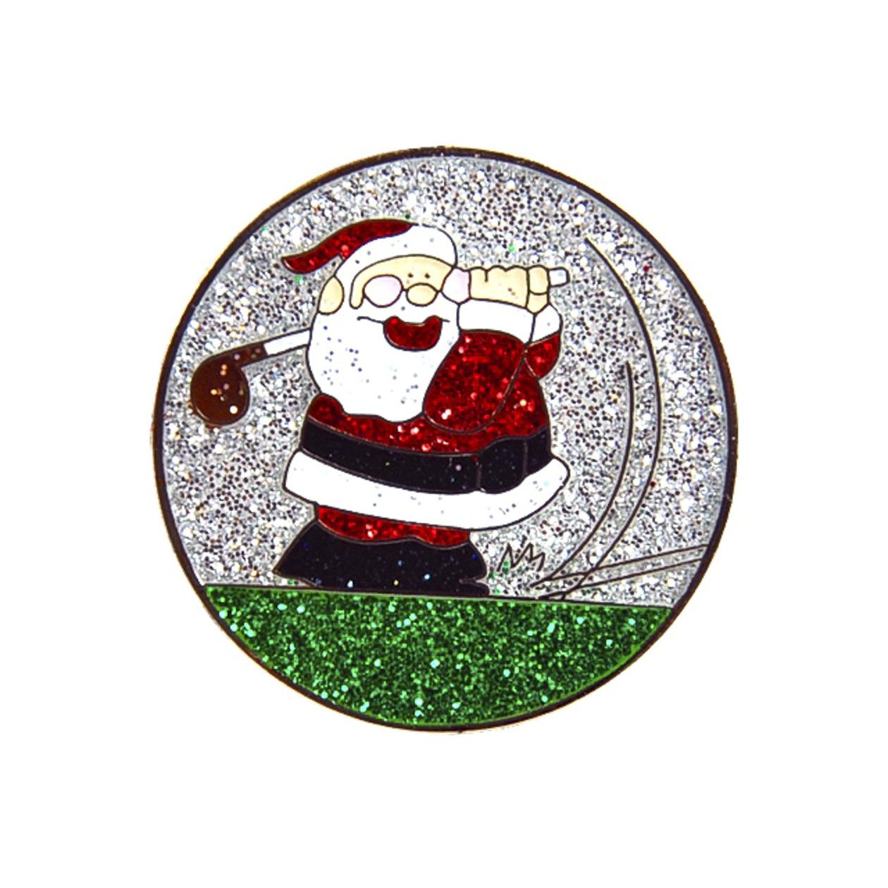 226.Golfing Santa