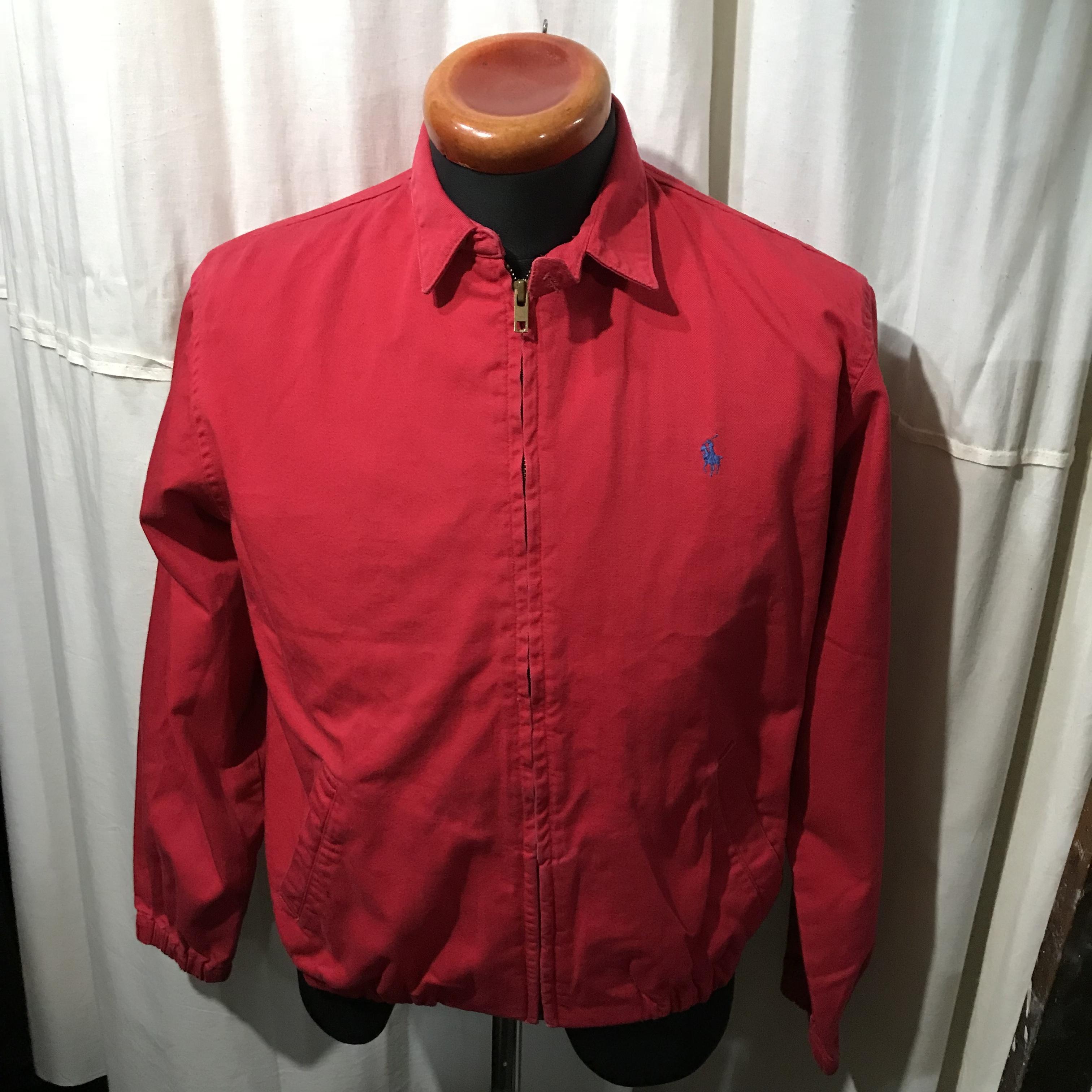 アメリカ製 Ralph Lauren ラルフローレン スイングトップジャケット メンズL