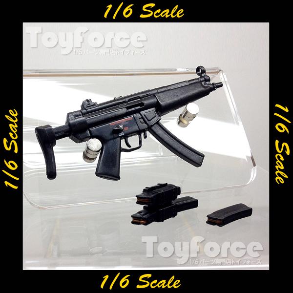 【02533】 1/6 H&K MP5 サブマシンガン
