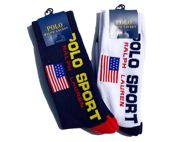 POLO by Ralph Lauren|Classic Polo Sports Crew Socks