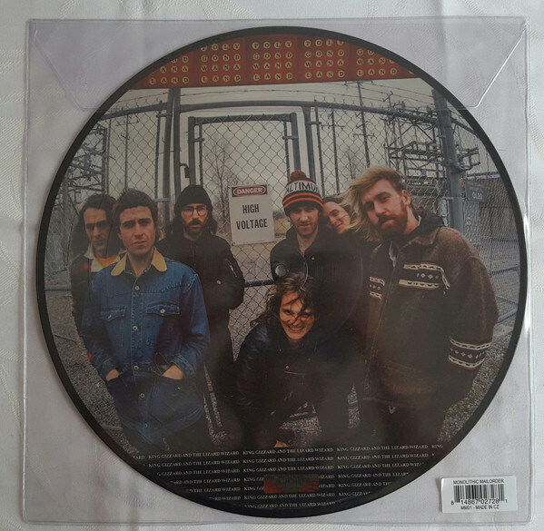 King Gizzard And The Lizard Wizard ‎/ Polygondwanaland(500 Ltd Picture Disk LP)