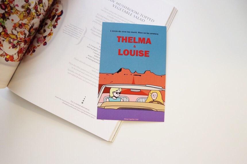 [OP-14]ポストカード(THELMA & LOUISE)