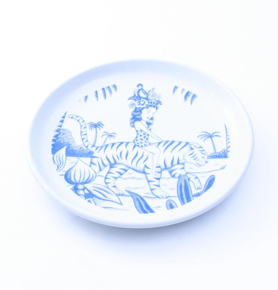 【SON OF THE CHEESE】SERGIO MORA PLATE TIGER(WHT)