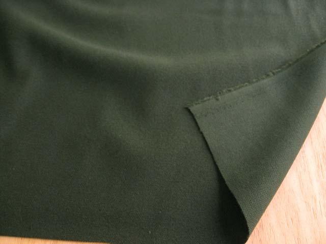 綿混べネシャン起毛(織物) グリーン CTM-0136