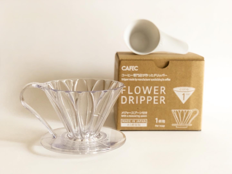 CAFEC Flower Dripper / フラワードリッパー 1杯用 PFD-1 *