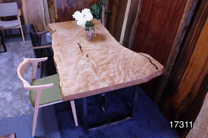 メープル 一枚板 1800×800-1050×60
