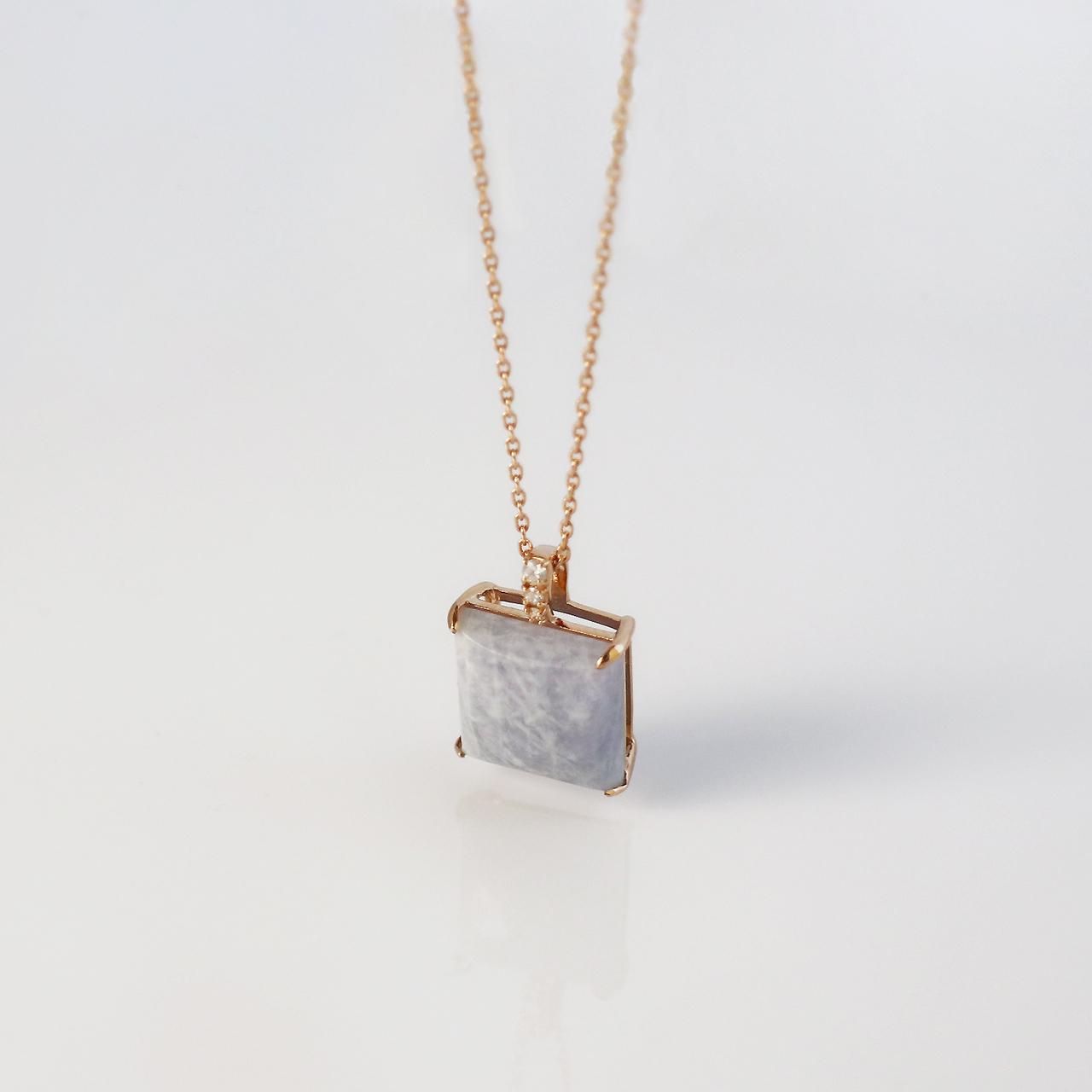 NAGI 'SHIRAFUJI' / Necklace (Lavender)