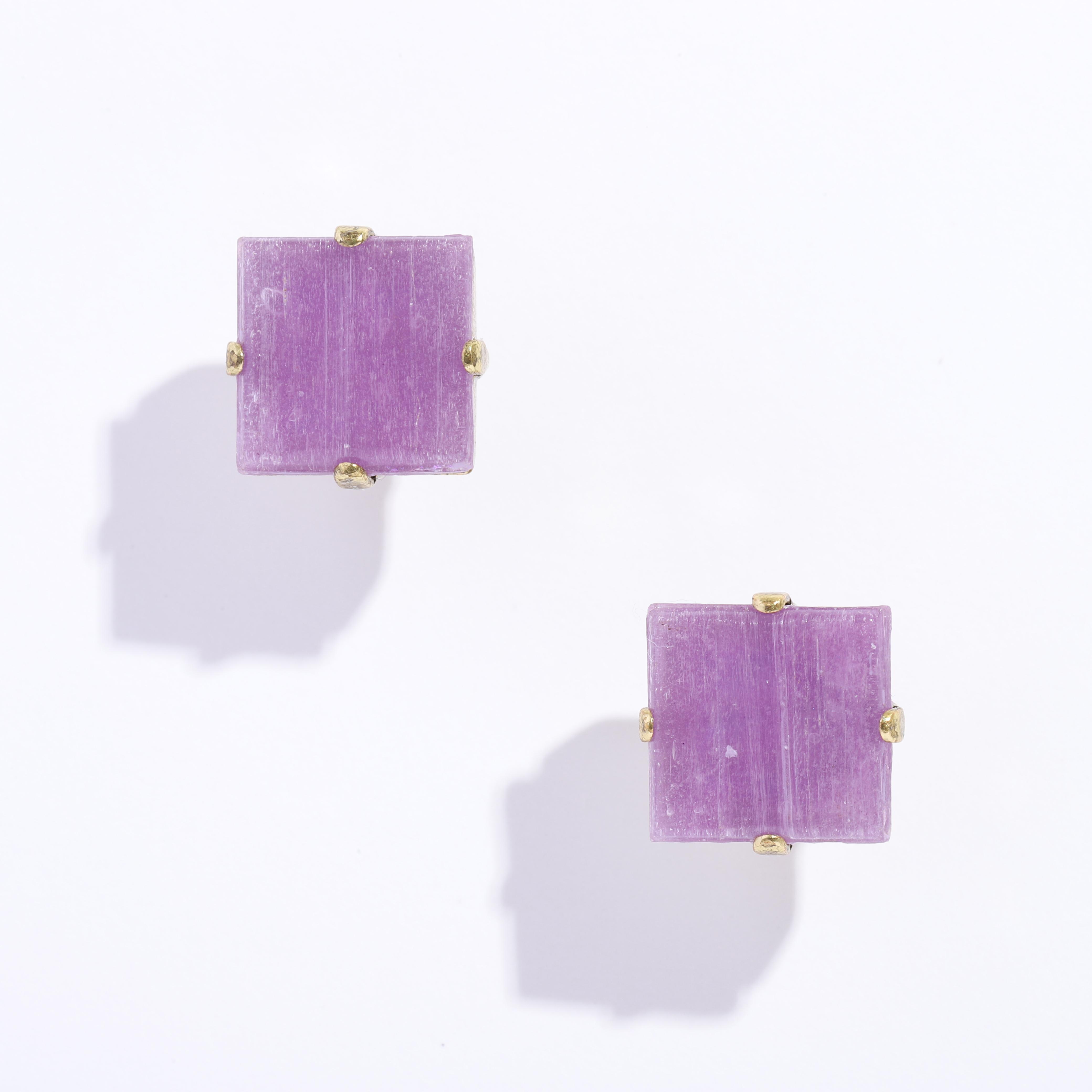 CLEOピアス purple
