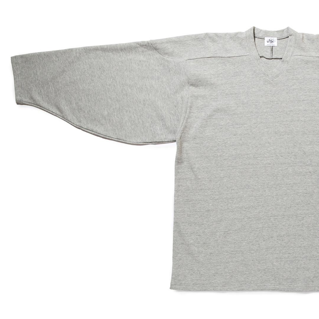 just right hockey shirt grey just right