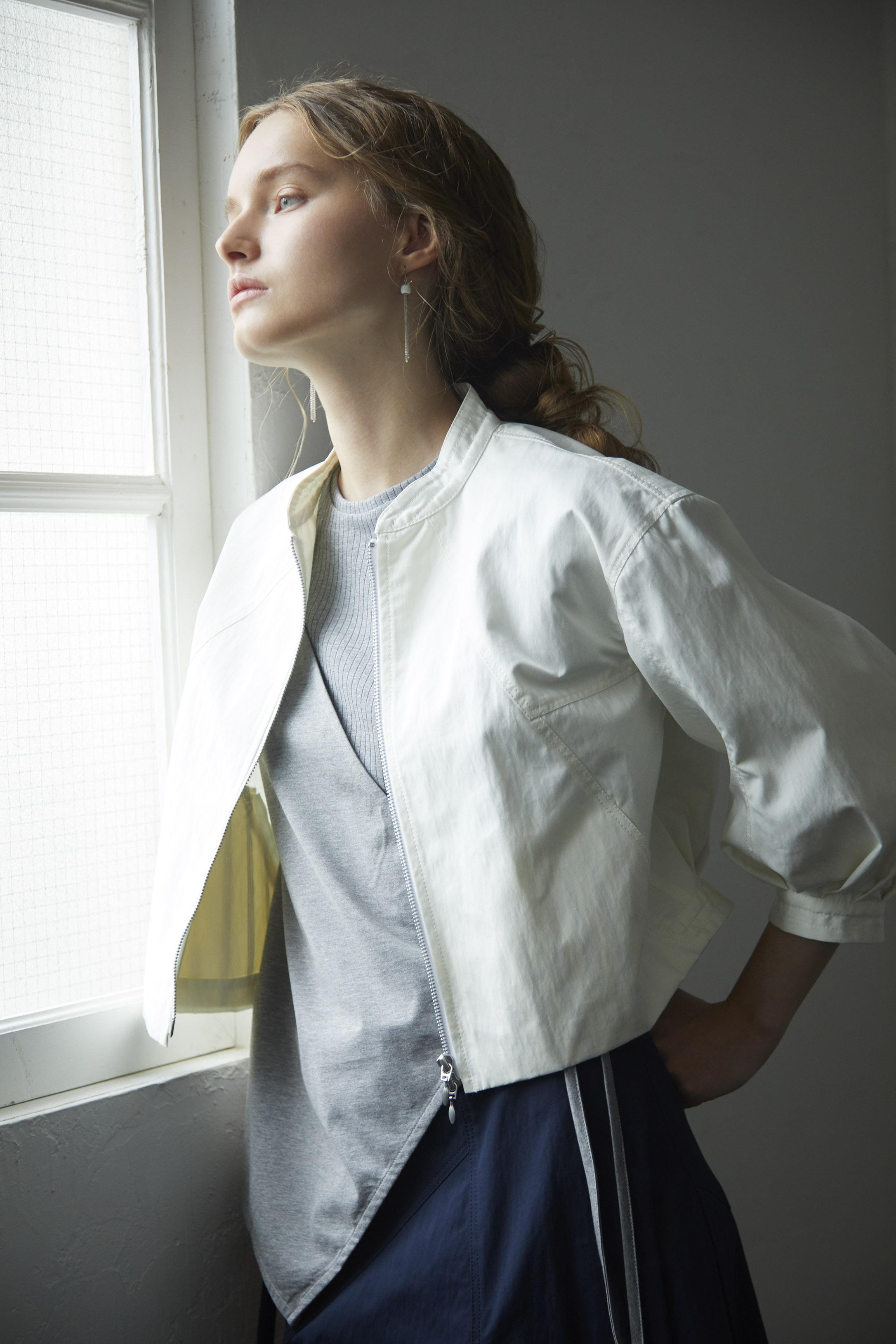 【2021SS先行受注アイテム】WEATHER CLOTH SHORT BLOUSON