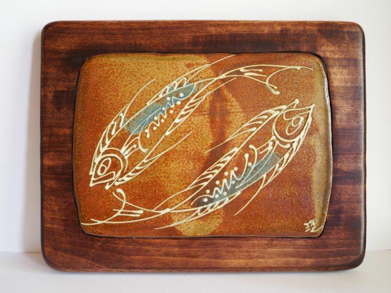 やちむん 陶芸工房かみや 神谷理加子 いっちん陶板