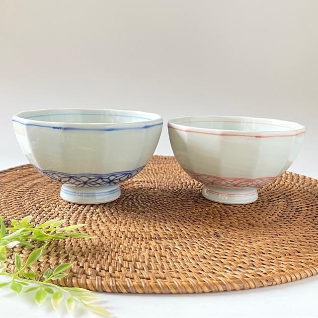 七宝紋 飯碗